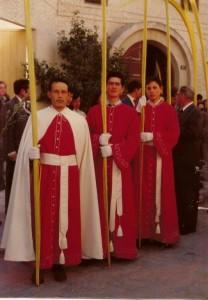 Primera procesión Domingo de Ramos 1975