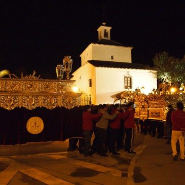 Traslado de los pasos a la Ermita de Loreto
