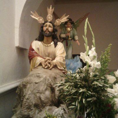 Nuestro Señor en su Oración en el Huerto