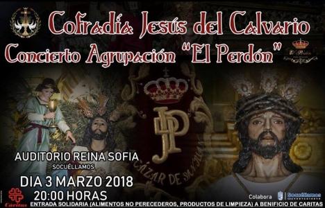 Cartel del Concierto de Música de Semana Santa 2018