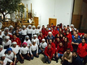 Grupo de Costaleros de la Oración y Anderos/as del Calvario