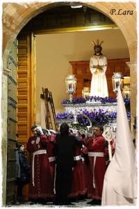 Salida de Jesús del Calvario,Miércoles Santo 2016