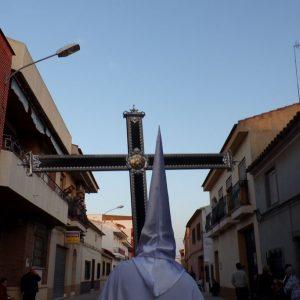 Procesión del Viernes Santo. Cruz de Guía
