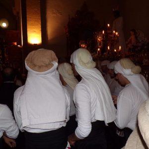Viernes Santo. Costaleros de la Oración en el Huerto