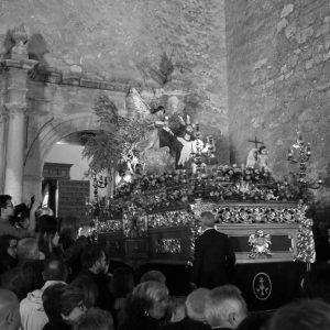 Procesión del Viernes Santo. Entrada de la Oración