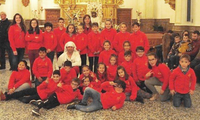 Grupo infantil Jesús del Calvario